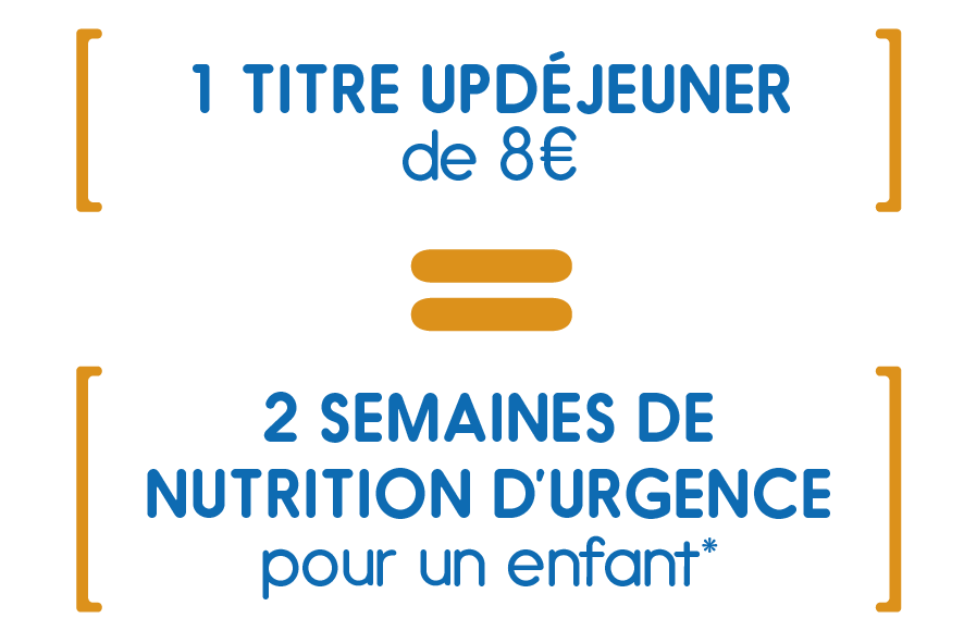 Faire Un Don Avec 8EUR Vous Permettez De Fournir A Enfant Traitement Base Pate Nutritionnelle Pendant Plus Deux Semaines